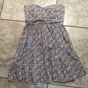BWOT strapless summer dress